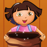 Dora Catch Candy