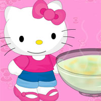 Hello Kitty Make Soup